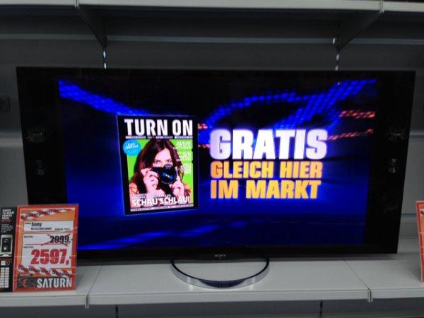 "Sony KD-55x 9005 4K Fernseher 55"" (Lokal bei Saturn im Rheinparkcenter Neuss)"