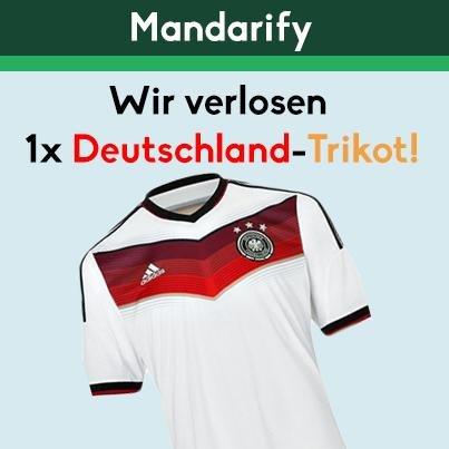 Deutschland-Trikot gewinnen bei mandarify.com