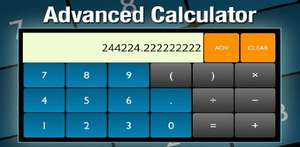 Gratis App des Tages - Advanced Calculator