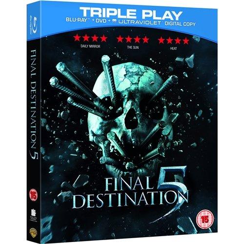 Blu-ray - Final Destination 5 (Triple Play / 2 Discs) für €4,22 [@Wowhd.co.uk]