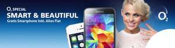 O2 Special bei Preis24 - Vertrag + Galaxy S5, iPhone 5s, ua. für 34,95 EUR mtl.