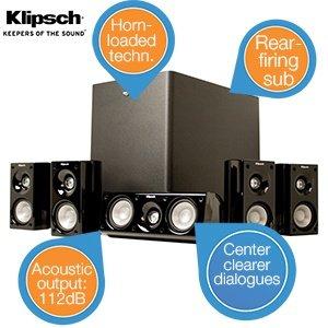 Klipsch HD Theater 500 5.1 Heimkinosystem Lautsprecher (iBood)