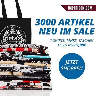 Streetwear Ausverkauf: Shirts, Caps, Beanies für unter 10 Euro