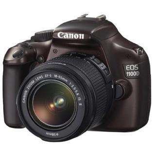 Canon EOS 1100D+ EF-S 18-55 IS Braun @ Redcoon als Hotdeal 279€