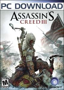 Assassin's Creed III [Steam] für 3,63€ @Amazon.com