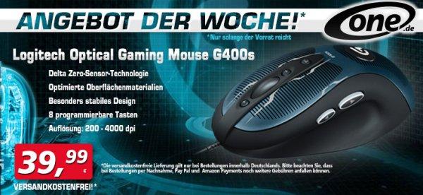 Logitech G400s 39,99 inkl. Versandkosten...