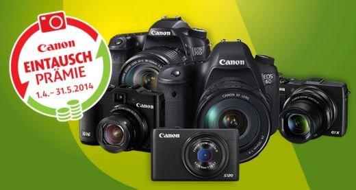 Schweiz: Canon-Eintausch/Einkauf-Aktion