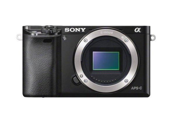 "Sony Alpha 6000 Systemkamera (24 Megapixel, (3"") LCD-Display, Exmor APS-C Sensor, Full-HD, High Speed Hybrid AF) schwarz für 550€ @Amazon.fr"