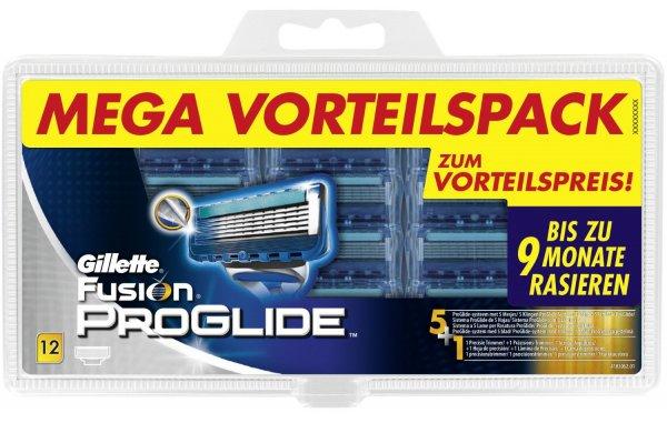 [Amazon Oster Deals] Gillette Fusion ProGlide 12 Klingen für 32,70 € (2,73 €/Klinge)