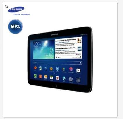 """CH DEAL Samsung Galaxy Tab3 10"""" WiFi 16GB schwarz MIGROS"""