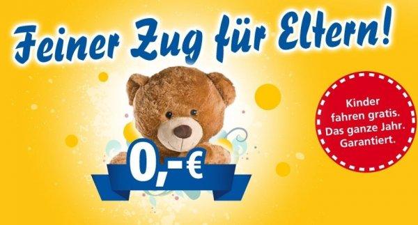 [BERLIN/LEIPZIG/ROSTOCK/GÜSTROW/MÜRITZ] InterConnex - BIS 30.04.2014 BERLIN-LEIPZIG nur 10€ + Kinder fahren IMMER kostenlos in Begleitung