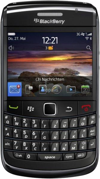 [Lokal: Herford] Vodafone Präsenterware: Blackberry Bold 9780 u.a.