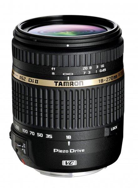 Tamron 18-270mm F/3,5-6,3 Di II VC PZD für Canon, Nikon und Sony