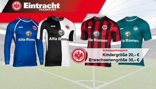 Eintracht Frankfurt Trikot 2013/14 - Kindergrößen 20€, Erwachsenengrößen 30€ evtl. plus Versand bei Online Kauf