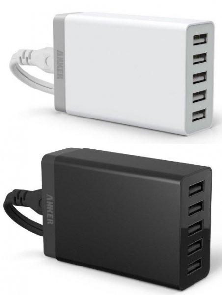Anker 40W 5V / 8A 5-Port USB Ladegerät und dazu einen 3000 mAh Astro Mini gratis