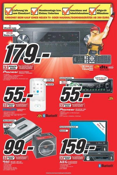 Autoradio CD USB Pioneer DEH 1600 UBG + 8 GB USB Stick Media Markt Pforzheim lokal?