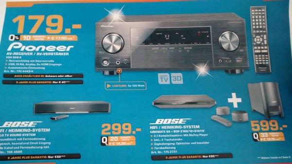 Pioneer VSX 528 K AV-Receiver/Verstärker im Saturn Dortmund für 179 Euro