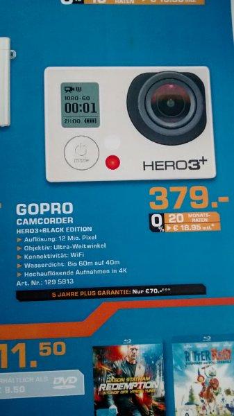 GOPRO Hero3+Black Edition Saturn Dortmund 379 Euro
