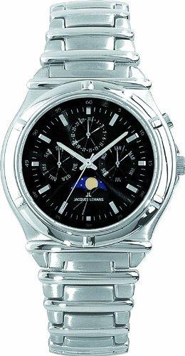 [Amazon.es] Jacques Lemans Damen-Armbanduhr Las Vegas 1-961A Synthetisches Saphirglas