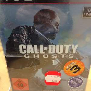 Call of Duty Ghosts Hardened Saturn Hannover für 18,33 Euro!