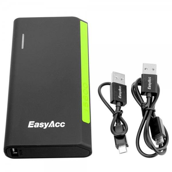 EasyAcc® 15600mAh Portable Power Bank + EasyAcc® 6000mAh Ultra Compact Power Bank für 46,99€