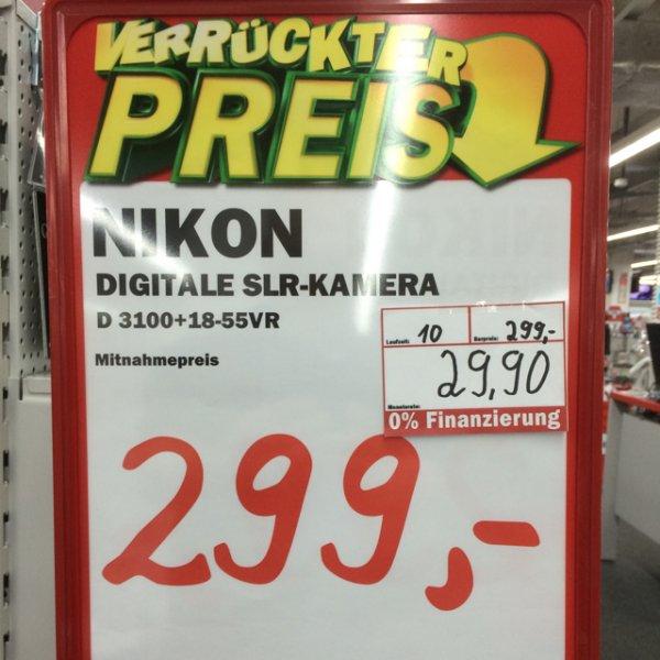 [Lokal] Breuningerland Sindelfingen Nikon D3100 Kit