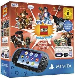 Sony PS VITA WiFi Lego Mega Pack Bundle ab 149€
