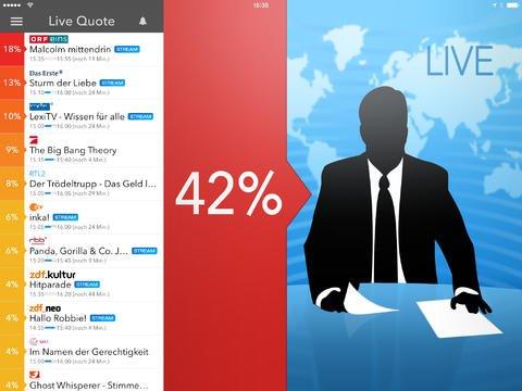 Live-TV App - NUR HEUTE kostenlos für Android-Smartphones / Kindle Fire / MAC
