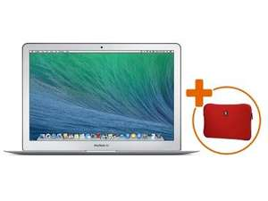 "Apple MacBook Air 13"" 1,3 GHz Dual-Core Intel Core i5 (Turbo Boost bis zu 2,6 GHz), Sondermodell mit 8 GB RAM +  Crumpler Sleeve-Tasche € 1079.- @ gravis.de"