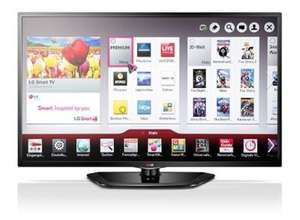 "LG 42LN5708 106cm (42"") LED-TV -Full HD, Triple Tuner, Smart TV, 100 Hz, USB Recording- 333€ + 17.99 VK [Ab 12 Uhr nbilliger.de]"