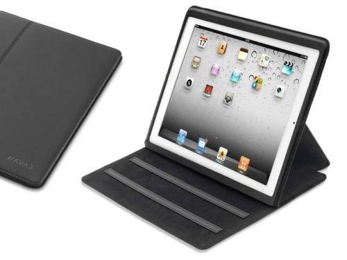 """KAVAJ iPad Tasche """"Hamburg"""" für Apple iPad 2/3/4, schwarz, mit Standfunktion (5 verschiedene Betrachtungswinkel) 29,90€ statt 59,90€ @Ebay"""