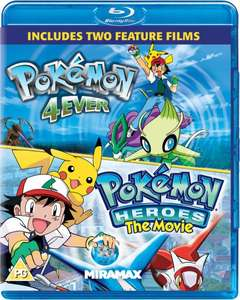 Blu-ray - Pokemon Double Feature (Forever + Heroes) für €7,26 [@Zavvi.com]