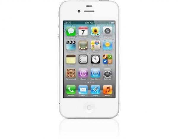 Apple iPhone 4S 16GB schwarz/weiß (B-Ware)(Gesamteindruck: gut) @MeinPaket.de
