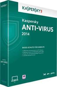 Kaspersky Anti-Virus 2014 1 Jahr Kostenlos