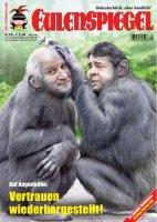 """April-Ausgabe des Satiremagazins """"Eulenspiegel"""" für 1,50€"""