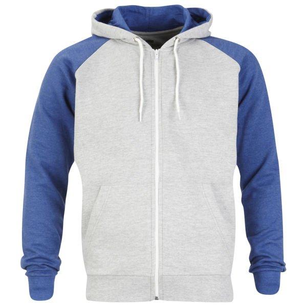 Brave Soul Men's Eden Raglan Contrast Hooded Zip für 9,66€ @Zavvi