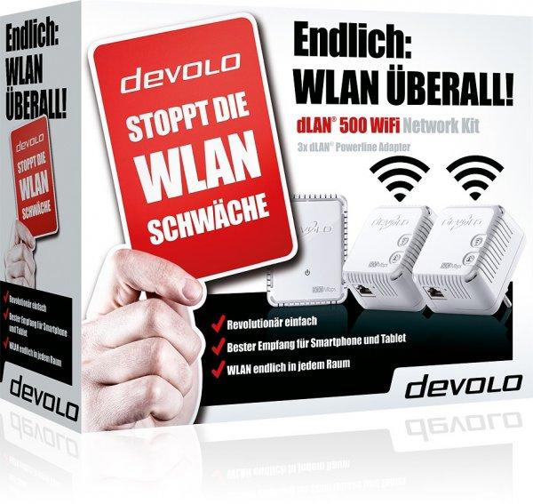 devolo dLAN 500 WiFi Network Kit - 70,50 €