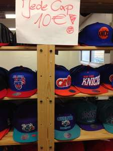 Lokal BONN  Outlet Snipes div.Caps u.a. New Era, Snapback&One Fit, u.a. auch Asics Tigers 50 €