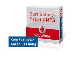 Vodafone Surf Sofort UMTS 10 GB & Festnetz Flat - Für Gelegenheitssurfer !