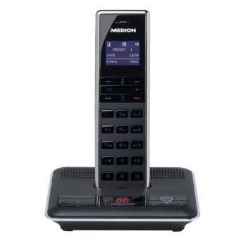 schleches Handynetz daheim, die Lösung Telefonkosten v Festnetz zu sparen: Medion S63075 Bluetooth DECT Festnetztelefon (A und B-Ware)