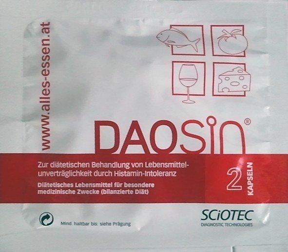 DAOsin-Probe für alle Histamingeplagte