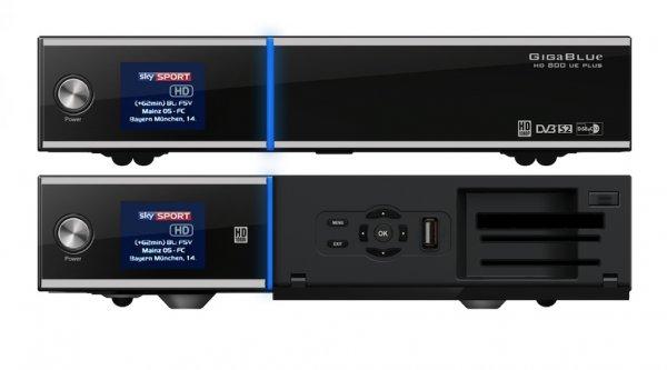 GigaBlue HD Quad Sat Plus Schwarz (Twin DVB-S2 HD Reciever PVR HDD Ready) @Hardwareversand