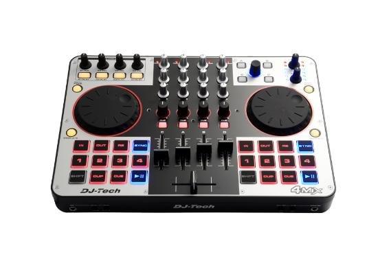 DJ-Tech MIDI-Controller 4MIX für 169,95€ frei Haus [3% Qipu] @DC