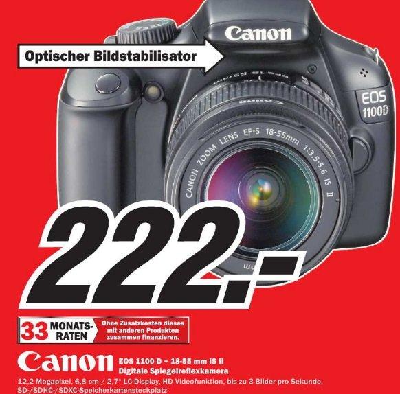 Canon EOS 1100D Kit 18-55 mm  IS  im MediaMarkt Hildesheim