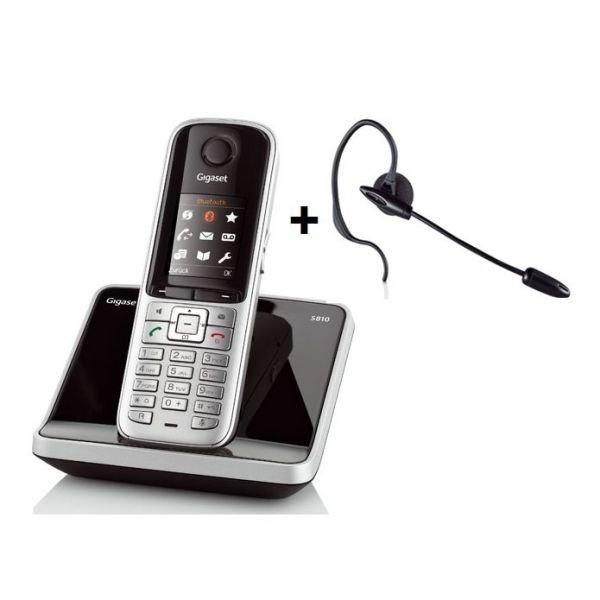 Gigaset S810 stahlgrau + Headset ZX300 für 49,99 EUR #getgoods.de