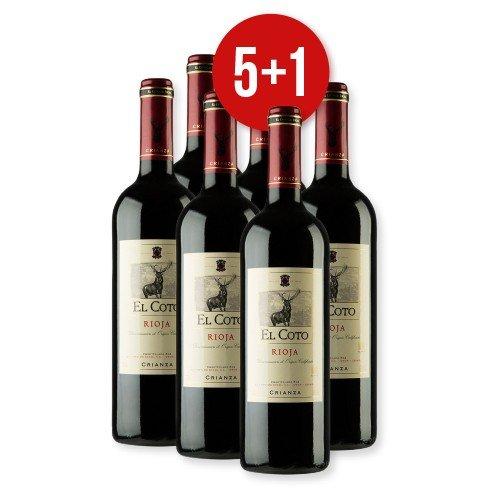 Wein (sehr lecker!!): 5.25€ Rioja El Coto Crianza DOCa  5 bezahlen, 1 geschenkt ->Delinero