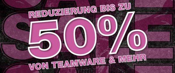 Frühjahrsputz im FC St. Pauli Fanshop (bis zu 50% - Trikots und Teamware)
