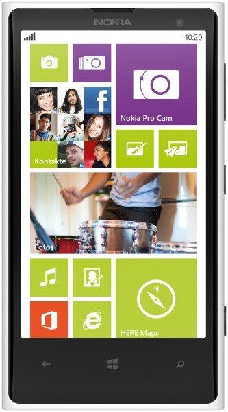 Nokia Lumia 1020 White Vodafone EU 32GB / 41 Megapixel / Snapdragon S4 2x 1,5GHz / 2GB RAM / Windows Phone 8 / für 389,90 EUR #hoh.de