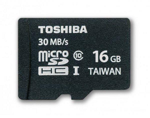 [meinpaket.de] Toshiba microSDHC 16GB Class 10 UHS-I für 9,02 € ohne Vsk