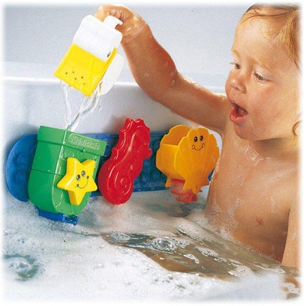 Fisher-Price Wannenplansch Wannen- Plansch Babyspielzeug Mattel